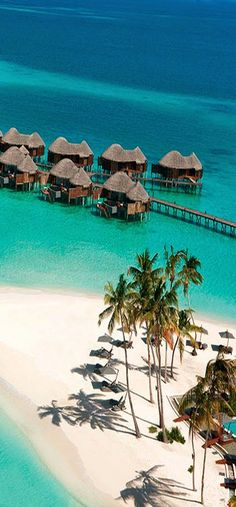 Constance Halaveli Resort ~ white sand beaches and turquoise waters, Maldives