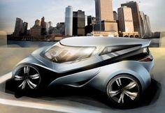 Green Apple - concept car