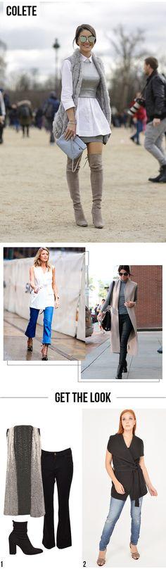 5 Peças que vão bombar no Inverno!   Como usar: Colete. #moda #look #outfit #inspiração #getthelook #inverno #tendência #dicas #estilo #styling #blog #lnl #looknowlook