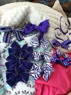 game day bows
