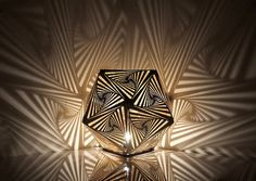 Cozo is a company based in San Francisco that draws inspiration from the intersection of science, technology, art and design to create striking, thought-provoking geometric pieces. More lighting design via Cross Connect Magazine