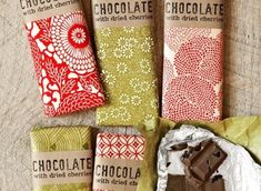 Free download. DIY Homemade Gift Ideas: Tart-Cherry and Dark Chocolate Bar Wrapper and Label download.