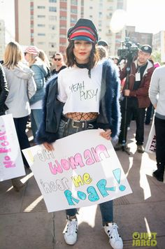 Vanessa Hudgens wearing Adidas Originals Superstar Sneakers, The Style Club Babe Denim Baseball Hat, Citizens of Humanity Liya Jeans in Trouble Maker and Jocelyn Fur Fifi Bolero