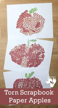 Pig Torn Paper Craft