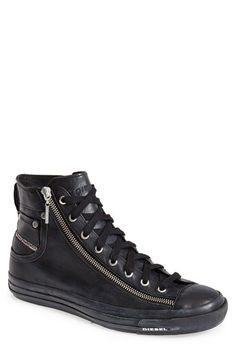 DIESEL® 'Expo-Zip' High Top Sneaker (Men) available at #Nordstrom