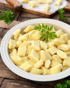 feed_image Polish Recipes, Dumplings, Cantaloupe, Main Dishes, Menu, Cooking Recipes, Favorite Recipes, Vegan, Fruit