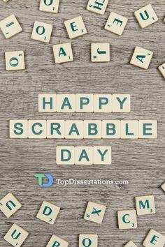 Let's play scrabble! #HappyScrabbleDay #holidays #havefun