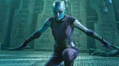 GUARDIANS OF THE GALAXY - Karen Gillan talks Nebula - Warped Factor - Daily features & news from the world of geek