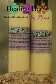 Biotin Hair growth lotion!  http://healingherbsbyrene.com/moisturizing-growth-lotion.html