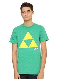 The Legend Of Zelda Triforce T-Shirt @ niftywarehouse.com #NiftyWarehouse #Geek #Zelda #Products #LegendOfZelda #Nintendo