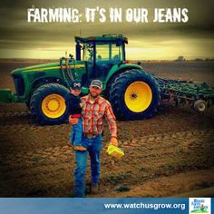 Farming: it's in our jeans.