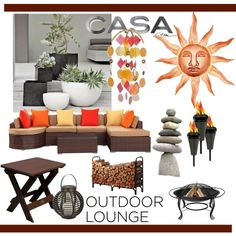"""""""Outdoor Lounge/Contest Entry"""" by clotheshawg on Polyvore"""