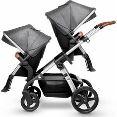 Add the Silver Cross Wave Tandem Seat to create a double stroller for twins or siblings. With the Tandem Seat, the Silver Cross Wave strol. Double Stroller For Twins, Single Stroller, Twin Strollers, Double Strollers, Tandem Pushchair, Convertible Stroller, Baby Comforter, Second Baby, Second Child