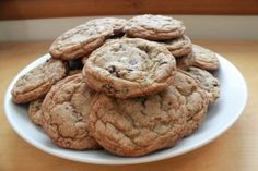 Coffee chocolate chip cookies on Pinterest