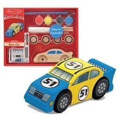 Melissa & Doug - Handwerk-Bastelsatz - einen Rennwagen: Amazon.de: Spielzeug
