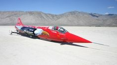 North American Eagle Land Speed Record attempt car