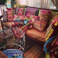 Assorted cushions and daybeds ..