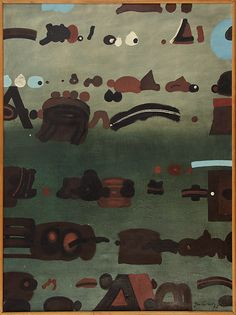 Jan Tarasin, SYTUACJA, 1985, olej, płótno Agra, Art Auction, Home Art, Contemporary Art, Museum, Abstract, Canvas, Antiques, Gallery