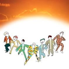 Cre: the owner/as logo Jhope, Jimin, Jung Kook, Vines, Fanart, Boy Scouts, Bts Memes, Boy Bands, Drawings