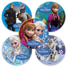 Free Disney Frozen Party Bag Toppers: Perfect addition to your goodies bag, just staple these Free Disney Frozen Party Bag Toppers to the top