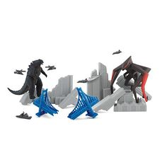 """I love this!  2014 Godzilla Deluxe Destruction Pack -  Bandai - Toys""""R""""Us"""