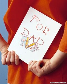 """See the """"Date with Dad"""" in our Kids' Crafts for Dad gallery"""