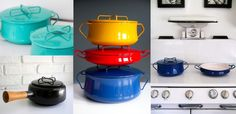 The many faces of vintage Kobenstyle design cookware
