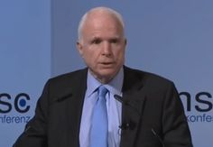 John McCain just systematically dismantled Donald Trump's entire worldview - The Washington Post