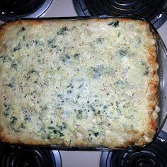 Chicken Alfredo Lasagna recipe snapshot
