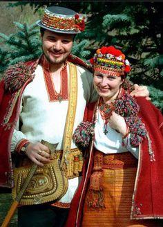Hutsul couple , W Ukraine, from Iryna