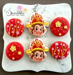 Chinese New Year - Year of the Monkey Cookies