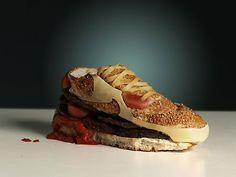 Une paire de Nike
