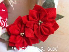 La bottega di Gugù: Come fare le stelle di Natale con il pannolenci