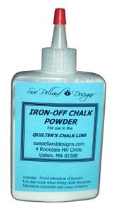 Of course you need the iron off chalk