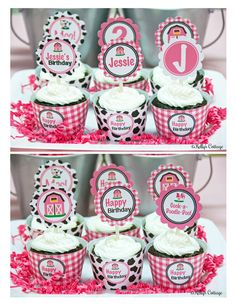 Barnyard Birthday Custom Party 2 Inch Party by KellysCottageShoppe, $5.50