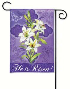 Magnet Works, Ltd. Easter Lily Garden Flag #MagnetWorksLtd