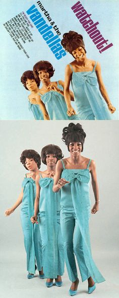 "Martha & The Vandellas ""Watchout!"" LP (1966) — Their fifth album featured the hits ""I'm Ready For Love"" and ""Jimmy Mack""."