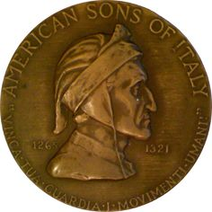 American Sons of Italy Medal by Frederic Ernest Triebel (1921)