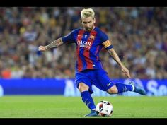 Barcelona's Argentinian forward Lionel Messi kicks a ball during the second leg of the Spanish Supercup football match between FC Barcelona and Sevilla FC at the Camp Nou stadium in Barcelona on August / AFP / PAU BARRENA Messi Vs, Messi Soccer, Lionel Messi, Messi Argentina, Rio Olympics 2016, Professional Football, Play Soccer, Football Match, Soccer Players