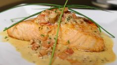 This Salmon melts in your mouth from Rayme's Steak & Fish House