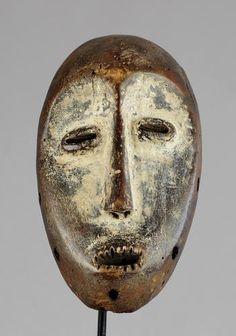Masque LEGA  Lukwakongo - Bwami  - Mask- Congo RDC - MC0462