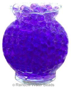 Purple Water Beads