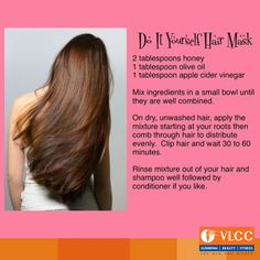 Don't have time to go to the Salon? Try this #DIY #HairMask and have silky smooth hair at home!  What do you do to take care of your hair?