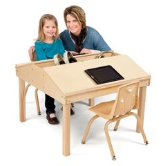 Jonti-Craft Classroom Twin Reading Table