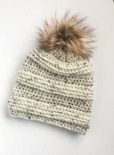 """Crochet Pattern // """"The Linden Beanie"""" // Hat pattern /Crochet Pattern / hat pattern / beanie pattern / crochet Motifs Beanie, Stitch Patterns, Crochet Patterns, Bonnet Crochet, Beanie Pattern, Beanie Hats, Crochet Hooks, I Shop, Winter Hats"""