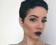 Image result for halsey shaved                                                                                                                                                                                 More