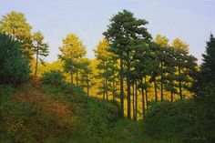 www.artpeoplegallery.com  Amazing Nature Paintings by Korean Artist An Jung-Hwan's Nature Story