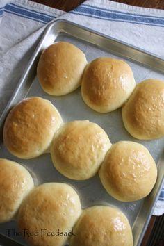 Home-Made Hamburger Buns recipe