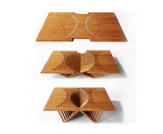 Rising Table van Robert van Embricqs   www.archana.nl