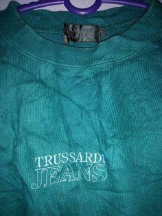taille d'années 90 brodé trussardi jeans moyenne Italie designers de mode de marque / haute couture / streetwear